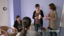 Expectant Woman Mom Mother Learning Diaper Use With Midwife 23758