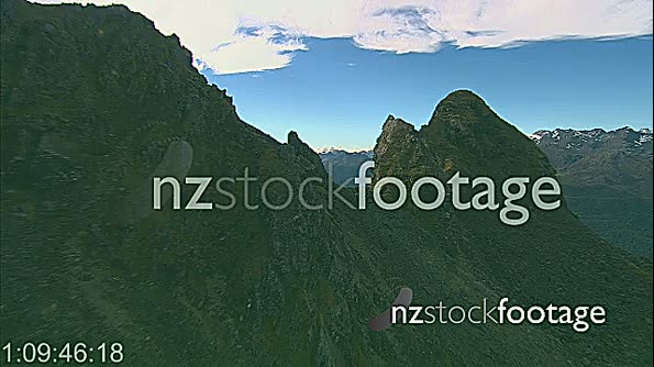 Southern Alps Fiordland 2 AERIAL 24496
