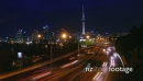 Auckland City Motorway Approach Time-lapse 4k Version 25558