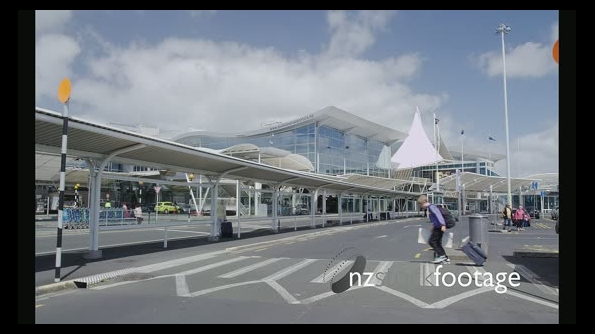 Parking Area in Front of the Auckland International Airport 25819