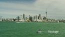 Auckland Downtown across the Harbour POV from the Ferry 25884