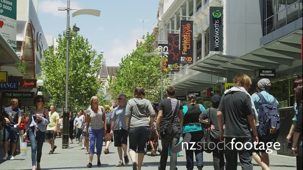 Perth Hay Street Mall Shoppers District 25970