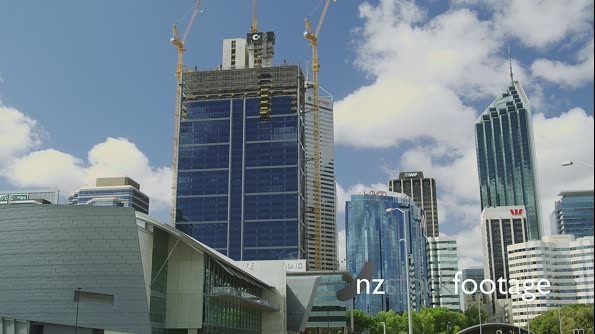 Perth Hi Rise Building Construction in the CBD 25979