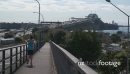 Jogger with Auckland Harbour Bridge HD 26418