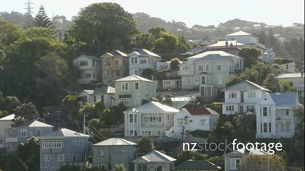 Wellington Houses on Hillside 1 26459