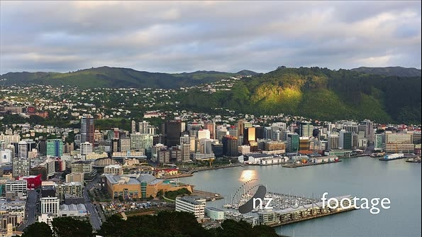 Wellington Sunrise From Mt Victoria HD TL 26462