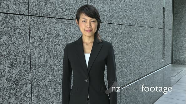 Career And Success For Young Asian Businesswoman Looking At Camera 26647