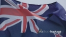 New Zealand Flag in slow motion 26696