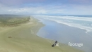 aerial flying over ninety mile beach, northland, new zealand 26719