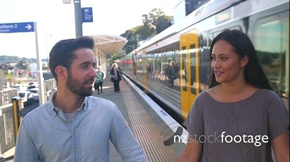 Kingsland Railway Station Couple 5 26796