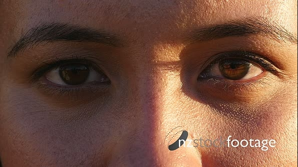 Young Woman's Eyes Close Up 1 26856