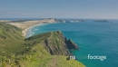 view to ocean beach from Cape Reinga, northland, New Zealand 26864