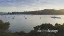 Aerial of ferry sailing boats in Opua, Bay of Islands, New Zealand 26903