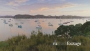 Aerial of sailing boats in Opua, Bay of Islands, New Zealand 26937