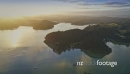 Aerial flying over sailing boats and hills in the Bay of Islands, New Zealand 26947