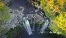 Aerial flying over rainbow falls in KeriKeri, New Zealand 26948