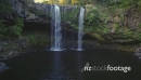 Aerial flying over rainbow falls in KeriKeri, New Zealand 26952