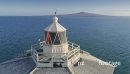 Aerial View Of bean rock lighthouse, auckland, New Zealand 26963