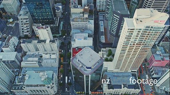 Aerial View Of Auckland City Skyline, New Zealand 26965