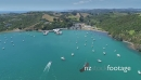 Aerial view of yatchs &  tourists on waiheke island, Auckland, New Zealand 26974