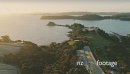 Aerial flying over a vineyard at Te Whau Bay waiheke island, Auckland, New Zealand 27014