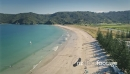Aerial flying over Matauri Bay in Northland, New Zealand 27018