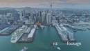Aerial View Of ferry entering Auckland City Skyline, New Zealand 27021