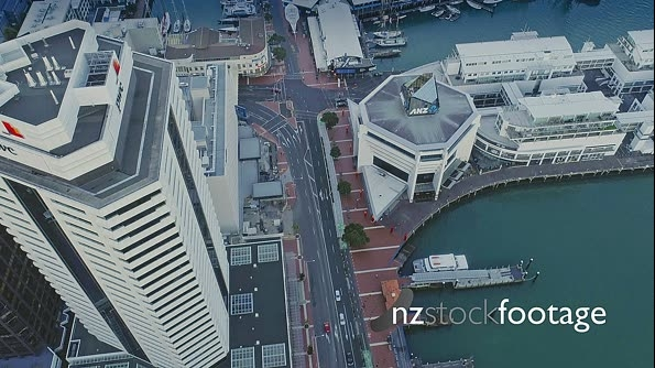 Aerial View Of Auckland City Skyline, New Zealand 27041