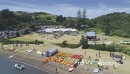 Aerial view of tourists on waiheke island, Auckland, New Zealand 27043