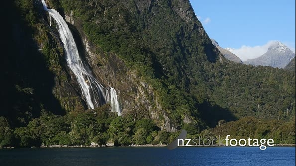 Milford Sound Waterfall 1 27080