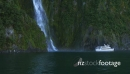 Milford Sound Waterfall Boat 1 27211
