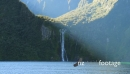 Milford Sound Waterfall and Afternoon Light 1 27214