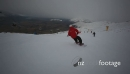 Snow Boarder Tracking Shot  27241