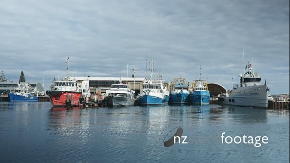 Fremantle Fishing Boats Moored 27262