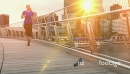 Woman Jogger Perth Bridge Sunset 1b 27377