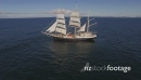 Flying Past Tall Ship - Sails Up_1 27386