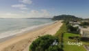 Aerial of Whangapoua Beach, Coromandel Peninsula, New Zealand 27522