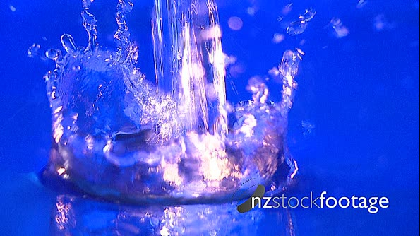 Water Pour Blue 2 Slow mo 2764. Click to view...