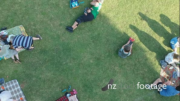 Summer Gathering Drone Shot 27747