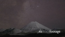 Stars Behind Mount Ngauruhoe in 4k 27835