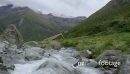 Time Lapse of River and Clouds In the Mountains  28071