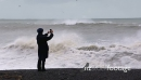 Photographer and storm seas 28159