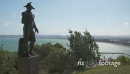 The historic and controversial Captain Cook statue on Kati hill overlooking Gisborne on the East coast 28175