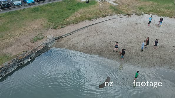 Drone Shot by the water 28204