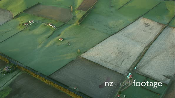 Aerial Green Pastures Horticulture NZ 28208
