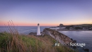 Timelapse Of Lighthouse At Sunset 28278