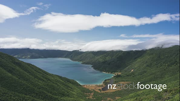 Marlborough Sounds 4k cloud timelapse 29039
