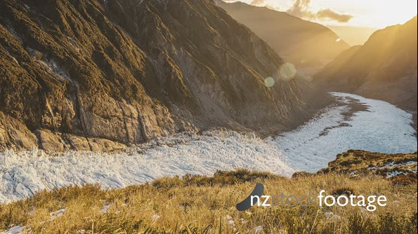 Fox Glacier 4k Sunset Timelapse 29042