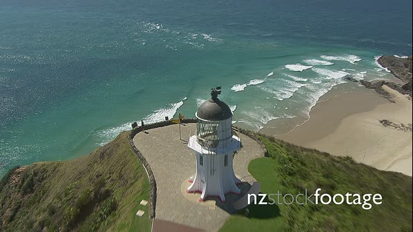 Cape Reinga Lighthouse Aerial  HD 1 29111
