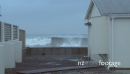 House with Rough Seas Crashing Over Wall 1 3552